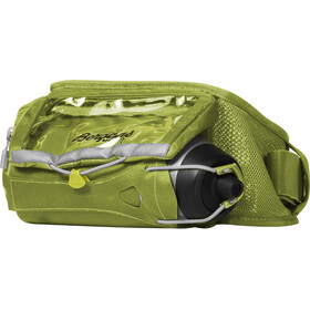 Bergans Fløyen Hydration Belt Sprout Green/Aluminium/Solid Dark Grey